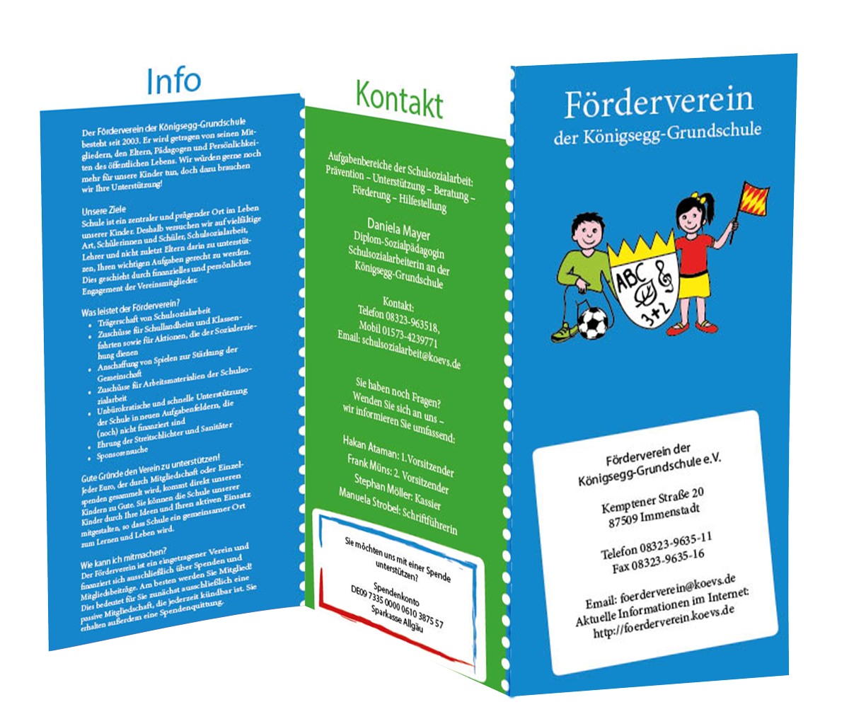 Muenswebit Förderverein Königsegg Grundschule Immenstadt Grafikdesign