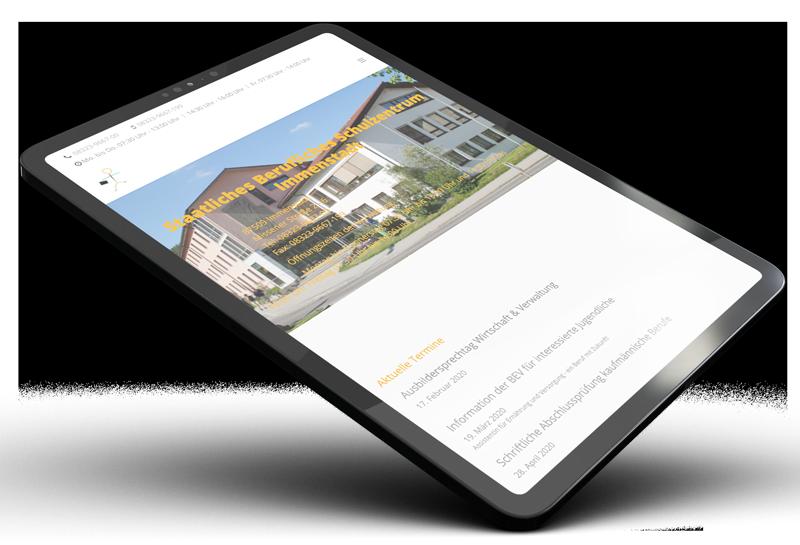Muenswebit Webdesign Immenstadt Staatliche Berufsschule