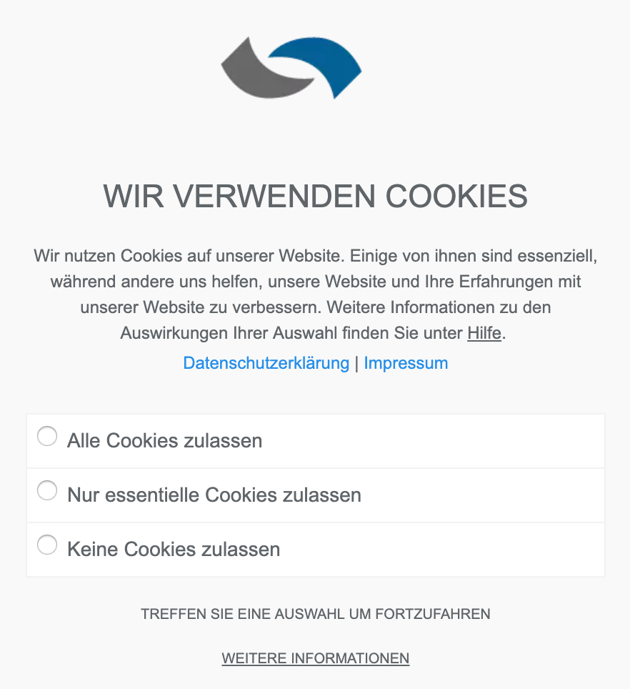 Muenswebit Verwendung von Cookies
