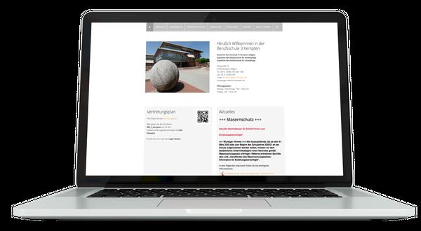 Webdesign BERUFSSCHULE 3