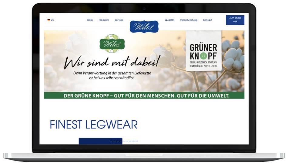 Webdesign WILOX