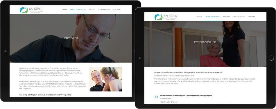 Webdesign KAI KÖNIG