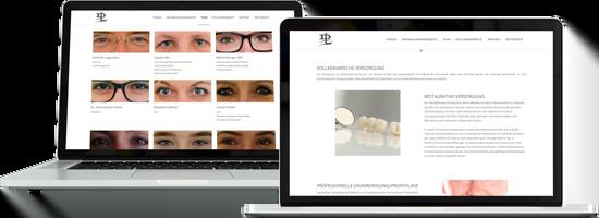Webdesign Zahnarztpraxis Dr. LINGEMANN