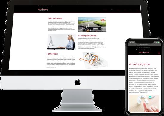 Webdesign GRÖBL-MORITZ