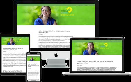 Header Webdesign CHRISTINA MADER