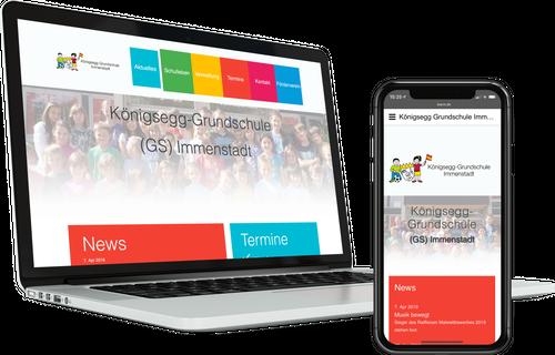 Titel Webdesign KÖNIGSEGG GRUNDSCHULE