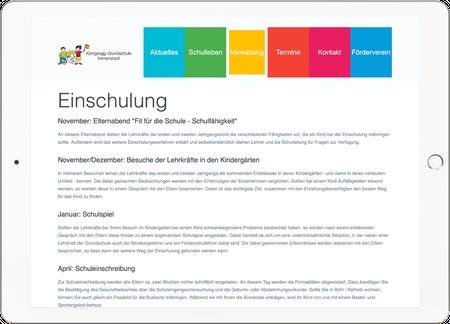Middle Webdesign KÖNIGSEGG GRUNDSCHULE