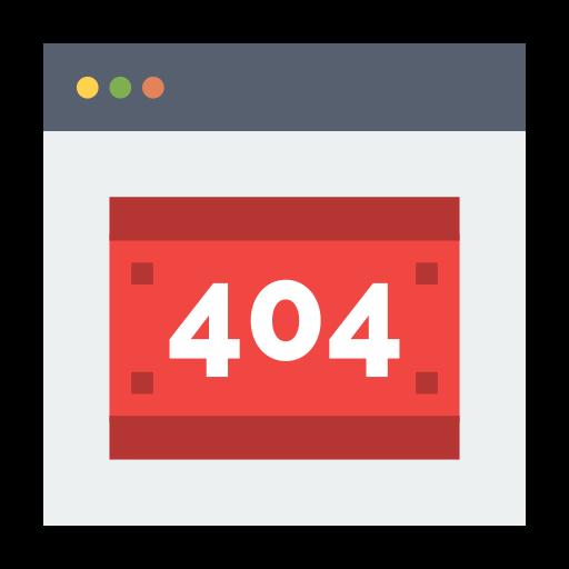 404 Fehler Error